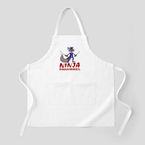 Ninja Squirrel BBQ Apron
