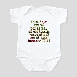 Romanos 12:21 Infant Bodysuit