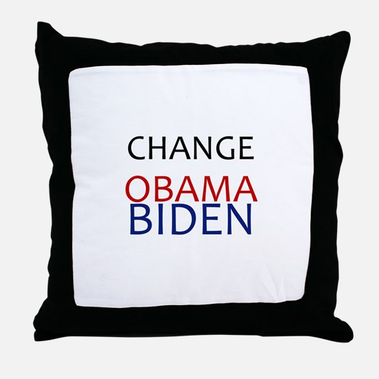 obama/biden Throw Pillow