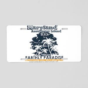 Maryland - Assateague Islan Aluminum License Plate
