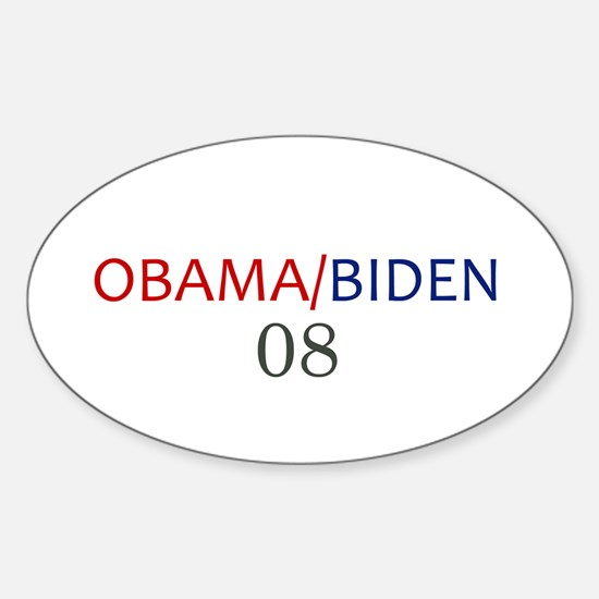OBAMA / BIDEN Oval Decal
