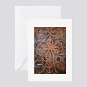 Designer Elegance Greeting Card