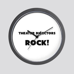 Theater Directors ROCK Wall Clock