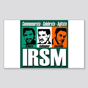 IRSM Rectangle Sticker
