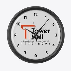Tower Mall Large Wall Clock