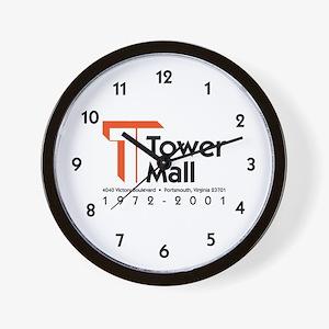 Tower Mall Wall Clock