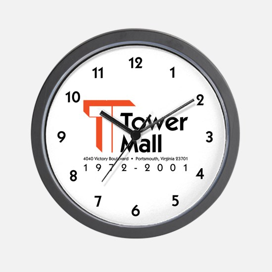 Tower Mall Wall Clock