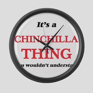 It's a Chinchilla thing, you Large Wall Clock