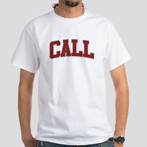 CALL Design White T-Shirt