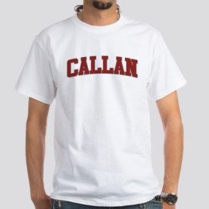 CALLAN Design White T-Shirt