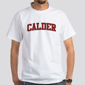 CALDER Design White T-Shirt