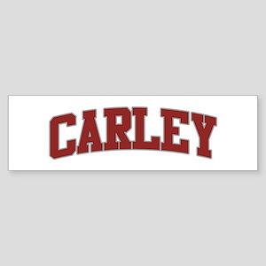 CARLEY Design Bumper Sticker