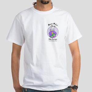 Moo-Ma's Logo White T-Shirt