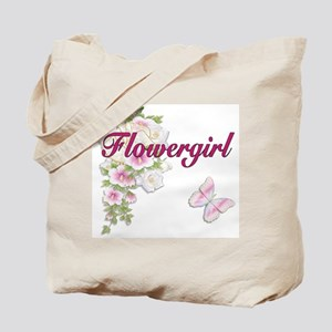 Bouquet Wedding - Flower Girl Tote Bag