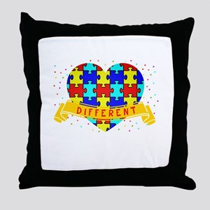 It's Ok to be different3 Throw Pillow