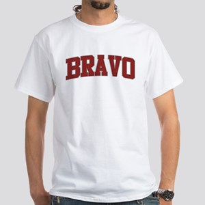 BRAVO Design White T-Shirt