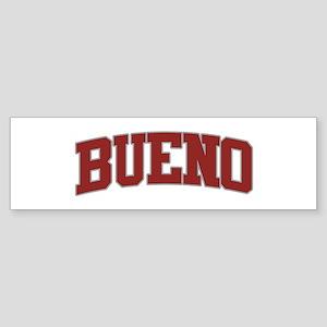 BUENO Design Bumper Sticker