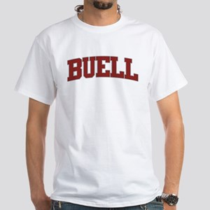 BUELL Design White T-Shirt