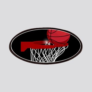 Basketball hoop and ball Patch