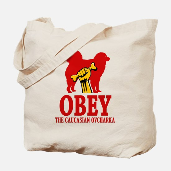 Caucasian Ovcharka Tote Bag