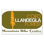 """Coed Llandegla MTB Centre 3x5"""" Sticker"""