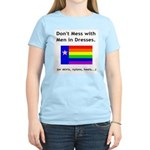 Don't Mess with - Women's Pink T-Shirt