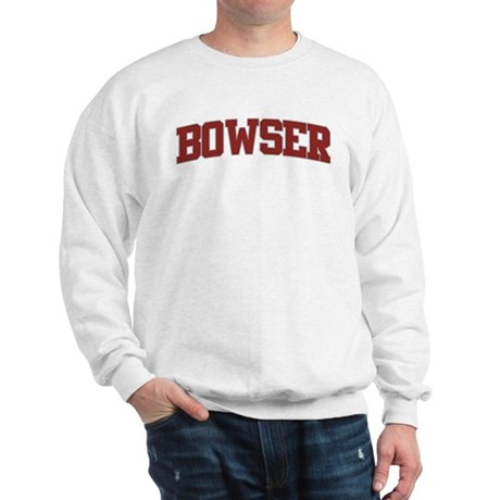 BOWSER Design Sweatshirt
