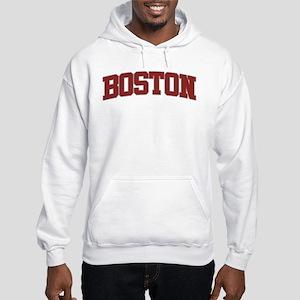 BOSTON Design Hooded Sweatshirt