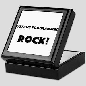 Systems Programmers ROCK Keepsake Box