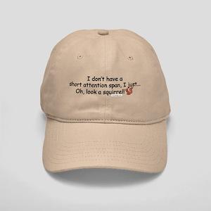 Attention Span Squirrel Cap