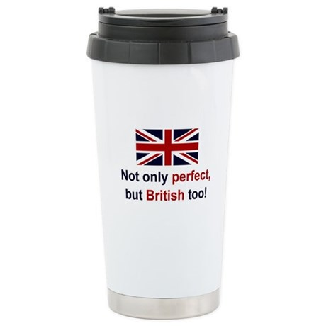 Perfect British Stainless Steel Travel Mug