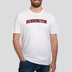 BENNINGTON Design Fitted T-Shirt