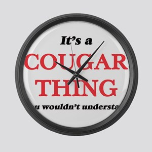 It's a Cougar thing, you woul Large Wall Clock