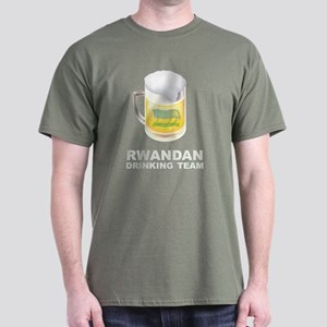 Rwandan Drinking Team Dark T-Shirt