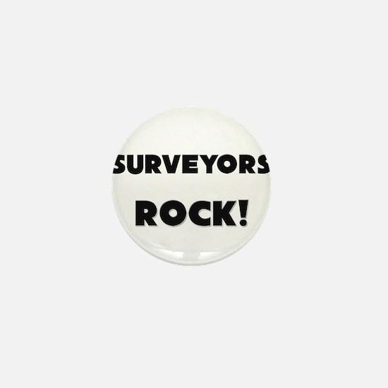 Surveyors ROCK Mini Button