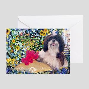 Shih Tzu Fine Art Truffles Greeting Cards (Package