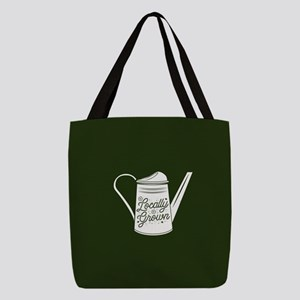 Locally Grown Polyester Tote Bag