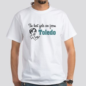 Best Girls Toledo White T-Shirt
