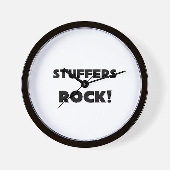 Stuffers ROCK Wall Clock