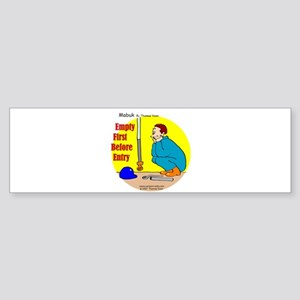 Confined Space Safety Bumper Sticker