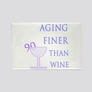 Witty 90th Birthday Rectangle Magnet