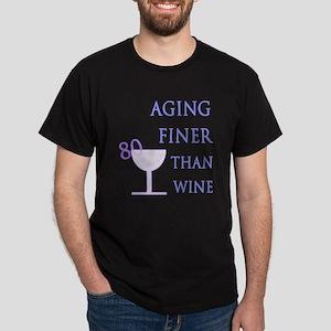 Witty 80th Birthday Dark T-Shirt