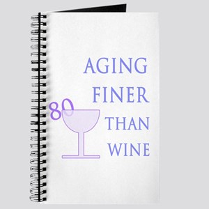 Witty 80th Birthday Journal