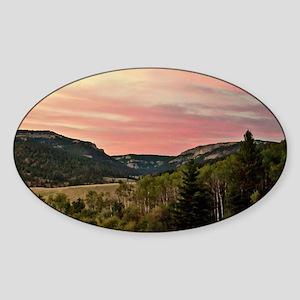 Central Montana Oval Sticker