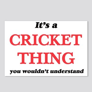 It's a Cricket thing, Postcards (Package of 8)