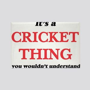 It's a Cricket thing, you wouldn't Magnets