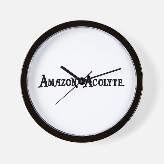 Amazon Acolyte Wall Clock