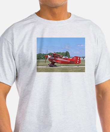 Red Pitts Ash Grey T-Shirt