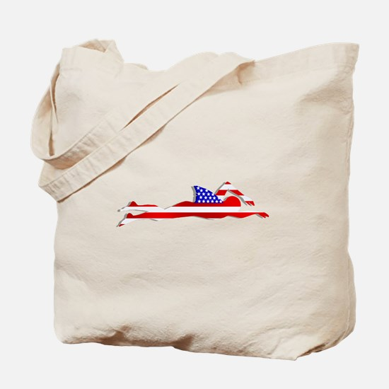 Usa Swimmer Tote Bag
