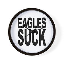 Eagles Suck Wall Clock
